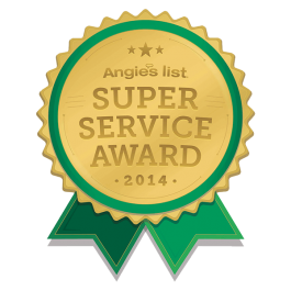 Homestead Roofing 2014 Angies List  Service Award